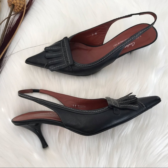 7f892233c6 Donald J. Pliner Shoes | Donald J Pliner Couture Slingback Kitten ...